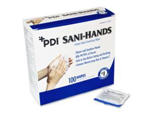 "Antimicrobial Hand Wipes Packets 5""x8"" 100/BX"