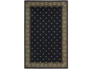 Nourison 83257 Cosmopolitan Rug Collection Area Rug Midnight 8 ft 3 in. x 11 ft 3 in. Rectangle