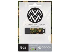 Centon Electronics DSPTM8GB-MOC Macbeth Mossy Oak Camo Pro2 USB Drive 8GB 8GB Multi