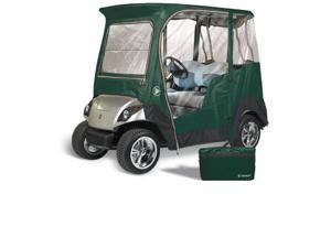 Greenline GLEYDB02 2 Passenger Drivable Golf Cart Enclosure and Jet Black 90 in. L x 48 in. W x 62 in. H
