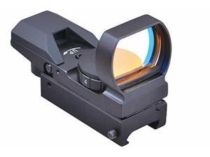 Trinity DH4S1B Tactical 4 Reticle Reflex Sight With Weaver Base