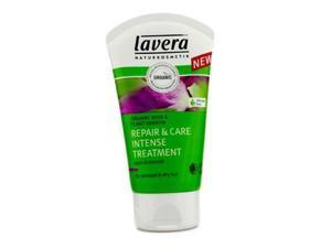 Lavera 16353926644 Organic Rose & Plant Keratin Repair & Care Intense Treatment - For Stressed & Dry Hair - 125ml-4.1oz