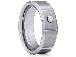 Doma Jewellery MAS03149-10 Tungsten Carbide Ring - Size 10