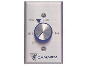 TekSupply 102322 Canarm Manual Ceiling Fan Controller 2-Way