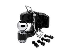 """63012 Tow Ready Black 16,000 lbs. Pintle Hook with 2-5/16"""" Ball"""