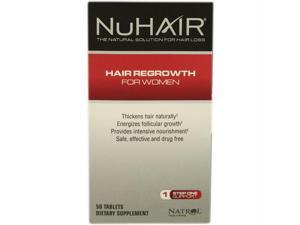 Natrol Hair Regrowth - NuHair Women - 60 Tablets - 1472836