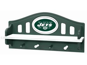 Adventure Furniture N0523-NYJ New York Jets Shelf with Pegs