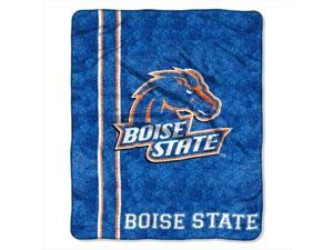 Northwest 1COL-06500-0093-RET Jersey-Boise State Col Sherpa Throw 50x60