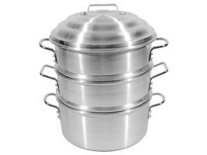 Town Food Service 34414-S 14 in. Aluminum Steamer Set