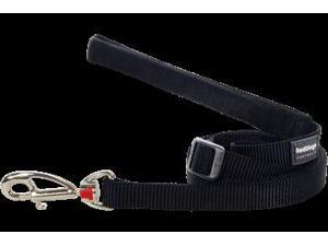 Red Dingo L6-ZZ-BB-LG Dog Lead Classic Black, Large
