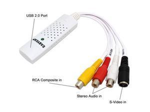 Atlas ATLezcapmac Mac Video TV DVD VHS Audio Capture Adapter USB 2.0  EZCAP