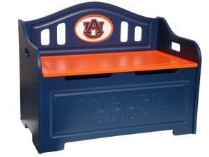 Adventure Furniture C0515P-Auburn Auburn University Storage Bench