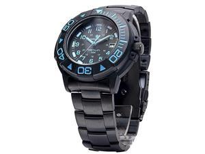 Smith & Wesson SWW-900-BLU Diver Tritium, 40mm, Blue Face, Black Rubber Strap