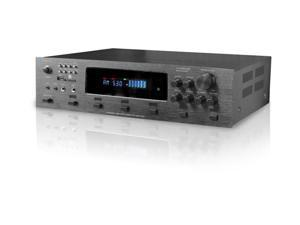 Technical Pro h12x500ubt Digital Hybrid Amplifier, Preamp & Tuner With 12 Speaker Output