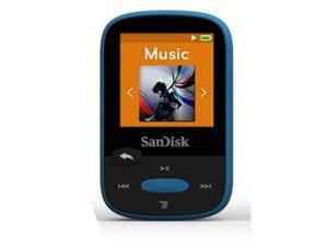 "SANDISK SDMX24-008G-A46B 8GB 1.44"" Clip Sport MP3 Player (Blue)"