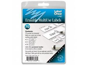 Jokari-US 47803 Erasable MultiUse Labels Refill- 70 labels