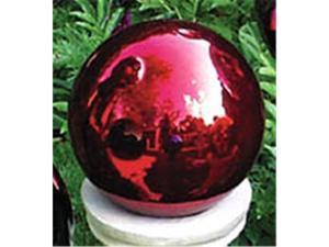 """Echo Valley RSR8105 10"""" Red Gazing Globe"""