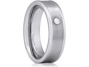 Doma Jewellery MAS03153-10. Tungsten Carbide Ring - Size 10.5