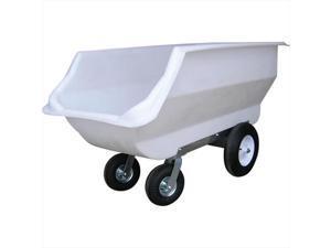 TekSupply 102440 PolyMax Poly Feed & Utility Cart - 20 Bushel