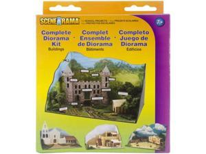Woodland Scenics SP4197 Complete Diorama Kit-Buildings