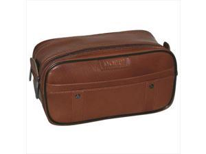Dopp 04947 Veneto Soft Sided Multi-Zip Travel Kit, Brown