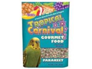 Brown S F. M. Sons Parakeet Tropical Carnival Foo 2 Pounds - 44645