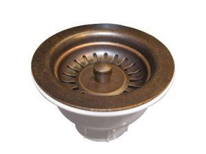 Native Trails DR320-WC Universal 3.5 in. Basket Strainer, Weathered Copper