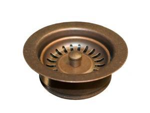 Native Trails DR340-WC 3.5 in. Disposer Trim with Basket Strainer, Weathered Copper