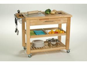 Chris & Chris JET1223 Pro Chef Kitchen Work Station