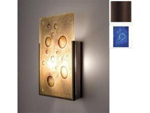 WPT Design FNJudy - BZ - WB 2 Light Incadescent Wall Sconce - Bronze-Wired Blue