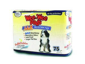 Four Paws Wee Wee Pads For Adult Dogs 75 Pack 100202100-01657