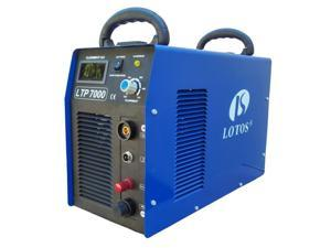 Lotos Technology LTP7000 70 Amps Pilot Arc Plasma Cutter, 7/8 Inch Clean Cut, 220V