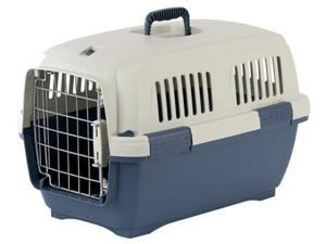 Marchioro 35589 Clipper Cayman 3 Pet Carrier, 25 in. Tan & Blue