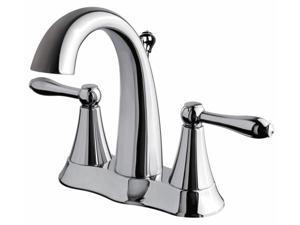 Ultra Faucets UF45310 Chrome Finish Two Handle Lavatory Faucet
