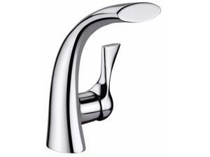 Ultra Faucets UF35110 Single Handle Chrome Twist Collection Lavatory Faucet