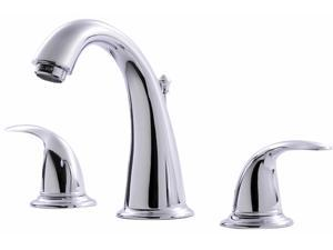 Ultra Faucets UF55010 Chrome Two Handle Lavatory Widespread Faucet