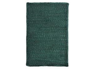 Colonial Mills M603R048X048S Simple Chenille - Dark Green 4 ft. square Rug