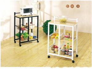 Acme Furniture Industry 02668 Sitara Kitchen Cart in White