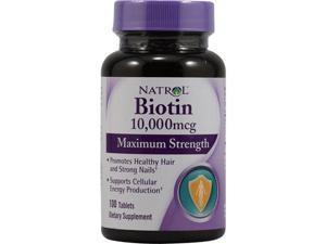 Natrol Biotin Max 10000Mcg, 100 Tb