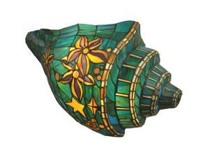Meyda Tiffany 65853 21 in. W Custom Glass Conch Wallsconce