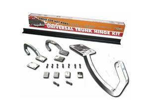 Autoloc Power Accessories 12857 Universal Chrome Trunk Hinge Kit