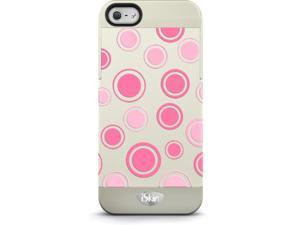 iSkin VBPKD5-PK5 Vibes Polka Dots Hard Case For Iphone 5-5S, Pink
