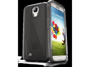 iSkin CLROS4-BK2 Claro Clear Hard With Soft Case For Samsung Galaxy 4, Carbon