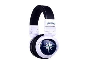 BiGR Audio Xlmlbsm1 Mlb Licensed Seattle Mariners Plastic Headphones