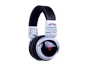 BiGR Audio Xlmlbnym1 Mlb Licensed New York Mets Plastic Headphones