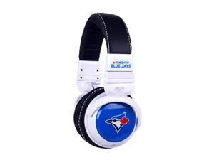 BiGR Audio Xlmlbtbj1 Mlb Licensed Toronto Blue Jays Plastic Headphones