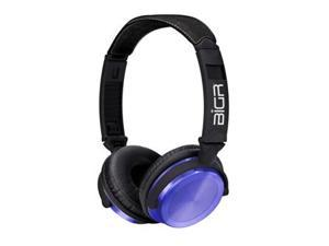 BiGR Audio Xlelepr Audio Anodized Purple Aluminum With Headhband