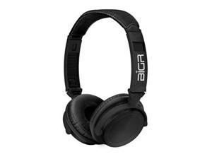 BiGR Audio Xlelebl Audio Anodized Black Aluminum With Headhband