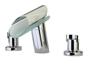 La Toscana 73CR214VR Morgana Bath Faucet Cylindrical Knob Pop-Up Drain Chrome