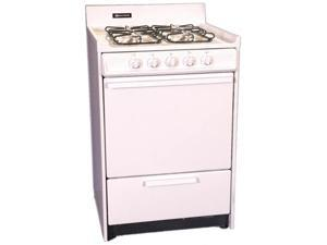 Brown - WNM610-7F - 24 Inch - Natural Gas Range with Electronic Glow Bar Ignition